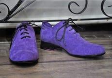 Męscy moda buty Obrazy Royalty Free