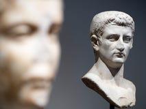 Męscy rzymianów popiersia Zdjęcia Royalty Free