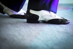 Męscy tancerza tana buty Zdjęcie Stock