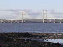 M4 Severn Bridge crossing, Gloucestershire Royalty Free Stock Photos