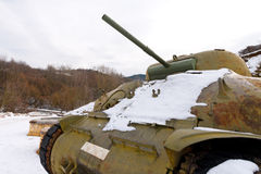 M4 Sherman - δεξαμενή μάχης Στοκ εικόνες με δικαίωμα ελεύθερης χρήσης