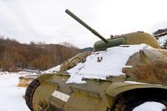 M4 Sherman - Battle Tank Royalty Free Stock Images