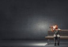 Męska skrzypaczka Zdjęcie Royalty Free