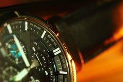 Męska zegarek scena Zdjęcie Stock