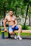 Męski atleta sport Zdjęcie Stock