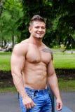 Męski atleta sport Obrazy Stock