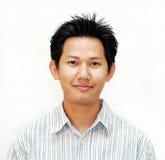 męski azjatykci portret fotografia stock