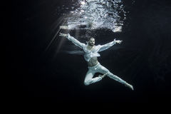 Męski baletniczy tancerz Zdjęcie Royalty Free