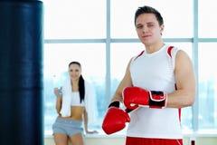Męski bokser Zdjęcie Stock