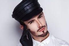 Męski fryzjera fryzjer męski Fotografia Stock