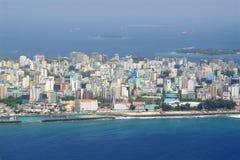 Męski miasto, Maldives Obrazy Stock
