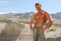 męski modnego sexy Zdjęcie Royalty Free