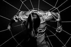 Męski niewolnictwo Fotografia Stock