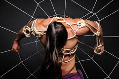 Męski niewolnictwo Zdjęcia Stock