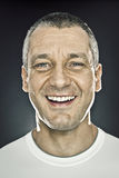 męski portret Zdjęcia Stock