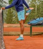 męski tenis gracza Obraz Stock