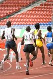Męskie atlety Zdjęcie Stock