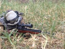 M14 a Sniper Killer. It is the ultimate weapon killer enemy Royalty Free Stock Image