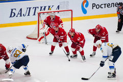 M. Solodukhin (17) and T. Eronen (4) Stock Images