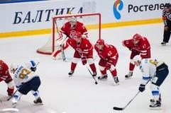 M. Solodukhin (17) and T. Eronen (4) Stock Images