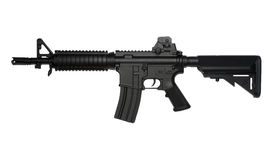 M4 SOPMOD tactical assault rifle, airsoft replica. M4 SOPMOD AEG tactical assault rifle, airsoft replica - airsoft gun Royalty Free Stock Photos