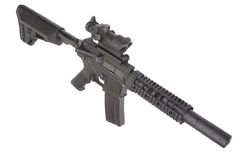 M4 special forces rifle Royalty Free Stock Photo