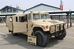 M1165A1 Special Operations high-mobility, multi-purpose wheeled vehicle Royalty Free Stock Photo
