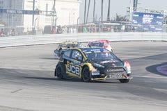 M-sport de St de Ford Fiesta conduit par #00 Steve Arpin Photographie stock libre de droits