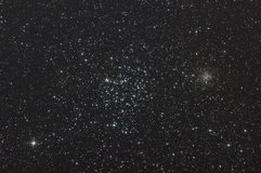 M35 star clusters Stock Photo