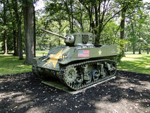 M5 Stuart Light Tank Stock Image