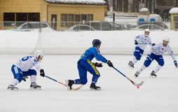 M.Sveshnikov(white) vs J.Esplund(blue) Stock Photo