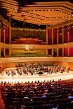 M. Symphonic Orkest presteert stock foto's