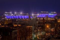 M&T Bank Stadium w Baltimore, Maryland obrazy royalty free