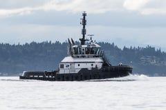 M/T Michelle Sloan in corso su Puget Sound Immagini Stock
