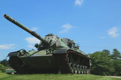 M-60 tank at  Vietnam War Memorial Stock Photo