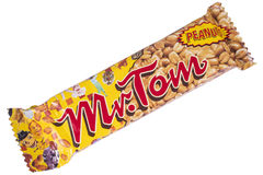 M. Tom Peanut Bar Stock Afbeelding