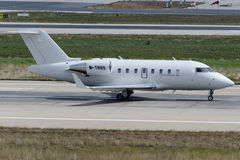 M-TRBS Bombardier CL-600-2B16 Challenger 604 Royalty Free Stock Images