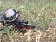 M14 um atirador furtivo Killer Imagem de Stock Royalty Free