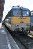 MÁV Class V43 locomotive Stock Photography