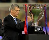 M. Villar président de fédération espagnole du football Photo stock