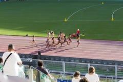 10000m vrouwenras Stock Foto