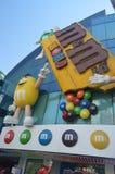 M y tira de M Store On The Las Vegas Días de fiesta del viaje Imagen de archivo