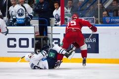 M Yakubov (75) contre M Pierre (93) Photos libres de droits