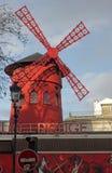 Młyn moulin szminka Obrazy Stock