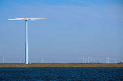 młynu energetyczny wiatr Zdjęcia Stock