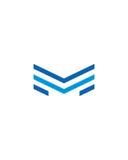 M zeichnen betriebsversicherungszusammenfassung der Ikone 7 Finanzab vektor abbildung