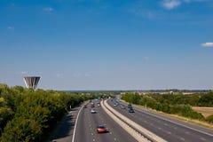M11 Mortorway near Harlow, Essex, England Stock Photos
