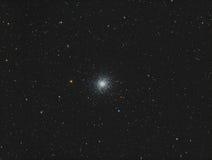 M13 Hercules Globular Cluster. Astronomy telescope nebula star royalty free stock image