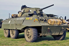 M14 US armoured car Royalty Free Stock Image