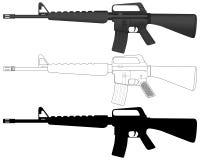 M16 Stock Photo